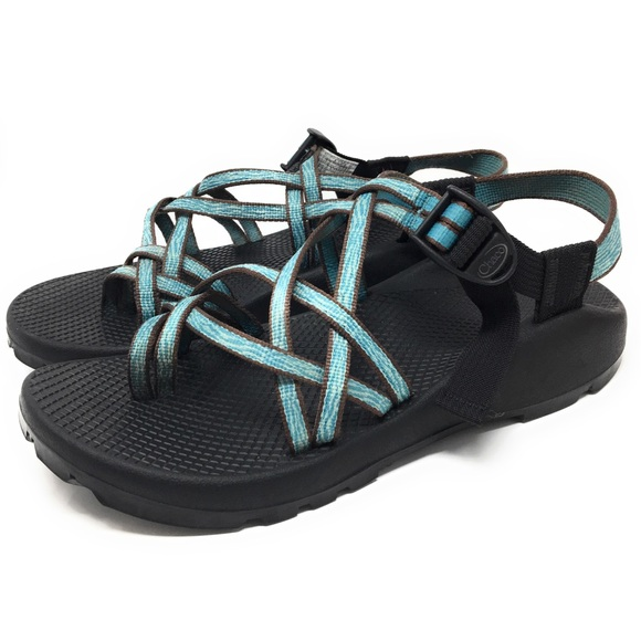 f71a42c12 Chaco Shoes - Chaco Strappy Sports Sandals ZX 2 Unaweep Teal